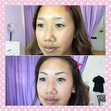 side view before and after micro blading yelp