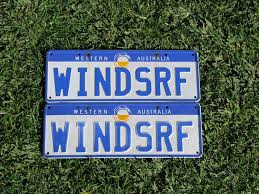 custom wa number plates for sale windsrf windsurfing forums