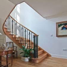stair ideas for home interior decoration with spiral wooden