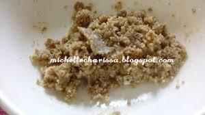 Scrub Vire ces t la vie home made almond scrub