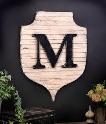 monogram letters home decor modern farmhouse monogram entryway sign letter wall decor