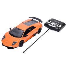 Lamborghini Murcielago Orange - 1 14 lamborghini murcielago lp670 4 sv radio remote control car