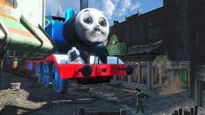 thomas tank engine pulled fallout 4 station