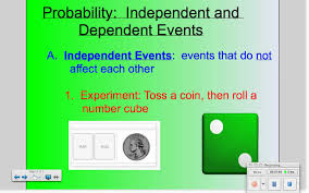 independent and dependent events youtube
