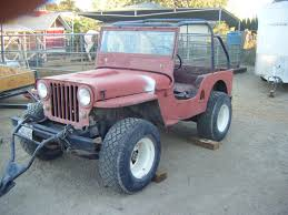 kia military jeep 51flatrunner 1951 jeep willys specs photos modification info at