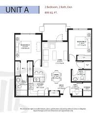different floor plans six different floor plans range from 678 to 998 square with