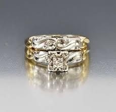 art deco engagement ring diamond wedding set u2013 boylerpf