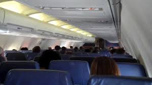 South West Flights by Southwest Airlines 737 300 In Flight Cabin View Youtube