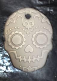 how to make sugar skull inspired ornaments 5 steps