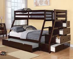 Plans Build Bunk Bed Ladder by Best 25 Full Bunk Beds Ideas On Pinterest Kids Double Bed Bunk