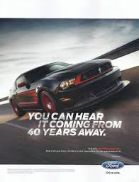 49 years of mustang advertising the about cars
