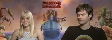 bill hader anna faris talk cloudy chance meatballs 2