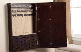 Wall Mount Jewelry Cabinet Diy Wall Mount Jewelry Organizer Home Design Ideas