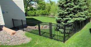 metal fence aluminum fence steel fence ornamental fence mn