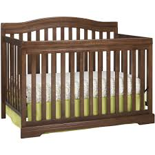 Discount Convertible Cribs Broyhill Bowen Heights 4 In 1 Convertible Crib Walnut