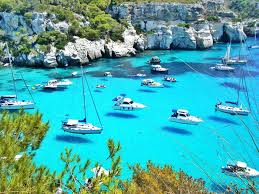 Menorca Spain Map by Menorca Spain Looks Like The Boats Are Flying Pics