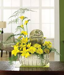 sympathy basket ideas always remembered garden basket at from you flowers
