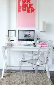 Living Room Office Ideas 17 Pink Office Ideas Cute Space For Girl Home Design And Interior