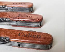 Monogrammed Pocket Knife Set Of Engraved Pocket Knives Monogram Pocket Knives Multi