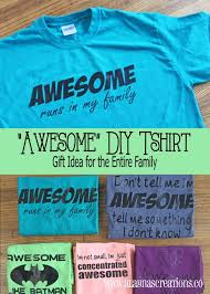 awesome diy shirts a gift idea for the entire family diy home
