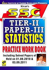 ssc statistics practice work book tier ii paper iii price