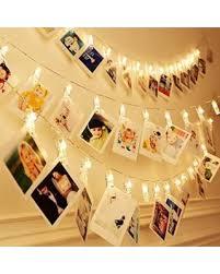 photo hanging clips hot sale kekh 20 led photo clips string lights christmas indoor