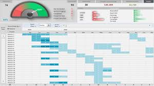excel project management template with gantt schedule creation and