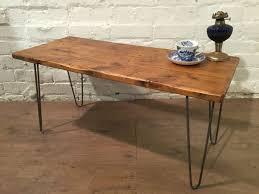 coffee table amazing side coffee table metal wood table raw wood