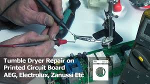 printed circuit board repair tumble dryer aeg electrolux zanussi