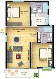 Floor Plans For Large Homes 50 3d Floor Plans Lay Out Designs For 2 Bedroom House Or Interior