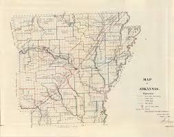 me a map of arkansas arkansas maps arkansaw traveler