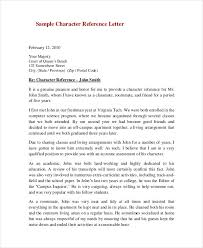 character reference letter for court examples of character