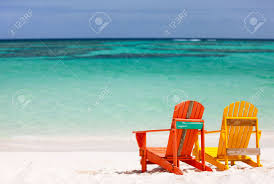Turquoise Lounge Chair Colorful Yellow And Orange Lounge Chairs At Tropical Beach In