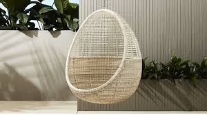 Hanging Cane Chair India 10 Easy Pieces Hanging Chairs Gardenista