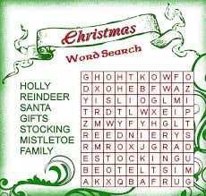 35 free christmas word search puzzles for kids
