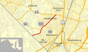 Mount Sac Map Maryland Route 500 Wikipedia