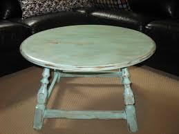 blue round coffee table u2013 50 u2013 sold ladybird u0027s vintage