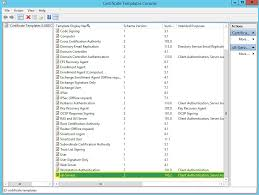active directory certificate templates 28 images enable web