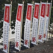 Tasmania Flag University Of Tasmania Stadium Home Facebook