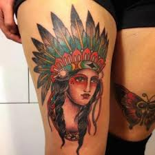 55 traditional native american tattoo design