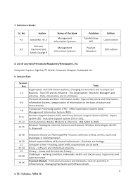 Cosmetology Resume Examples Beginners by New Mba Sem2 Detailed Syllabus