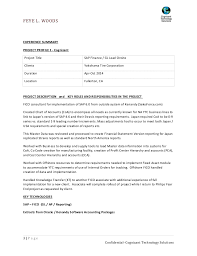 sap sample resumes templates franklinfire co