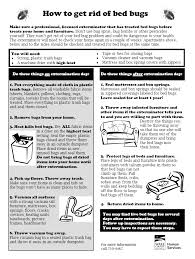 bed bugs ways to get rid of them bed bug pest