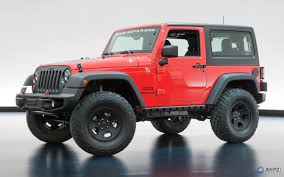 red jeep 2 door 2013 moab concepts revealed