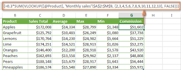 excel vlookup with sum or sumif function u2013 formula examples