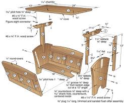 Woodworking Project Plans For Free by Magazine Rack Plans Woodworking This Do It Yourself Projects