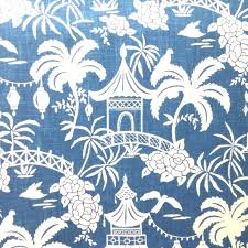 designer fabric moon pagoda indigo fabric store with designer and decorator