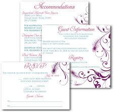 wedding invitations with response cards wedding invitations with rsvp cards walmart wedding invitations