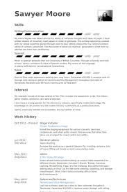 Spanish Resume Samples by Installer Resume Samples Visualcv Resume Samples Database