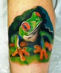 40 frog tattoos tattoofanblog